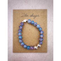 Doroty™ gyöngy karkötő- különleges kék