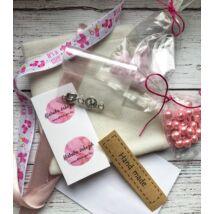 Mini babaváró-box- rózsaszín