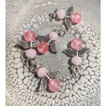 Angyalkák  - 5db- rózsaszín
