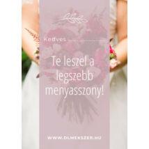 Menyasszonynak kártya