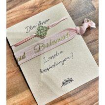 Bridesmaid szett- Mandala- rózsaszín
