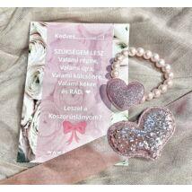 Princess™ koszorúslány felkérő- rózsaszín 1.