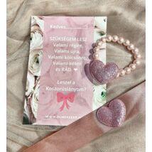 Princess™ koszorúslány felkérő- rózsaszín 2