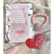 Princess™ koszorúslány felkérő- pink