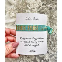 Lánybúcsús ajándék a menyasszonytól- menta