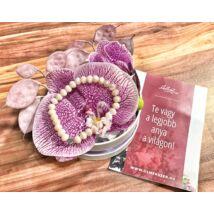 Legjobb anya virágbox- orchidea