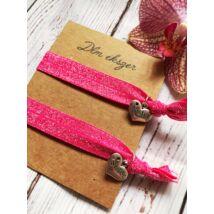 Testvér karkötő szett- pink