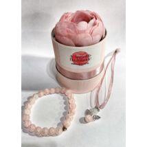 Angyalos évzárós ajándék szett- legjobb dadusnak- rózsaszín