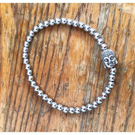 Buddha Cristallo™ karkötő- ezüst