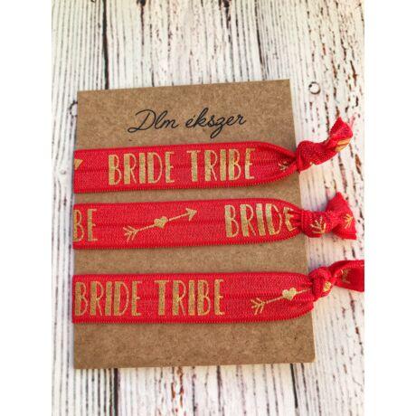 Bride tribe piros karkötők- lánybúcsúra- 3db/ csomag