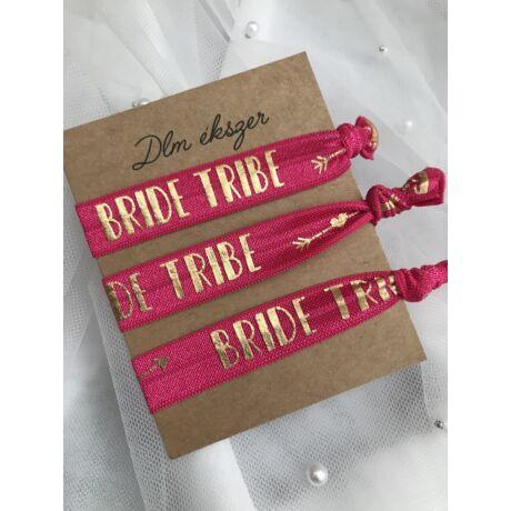 Pink Bride tribe karkötők- lánybúcsúra- 3db/ csomag