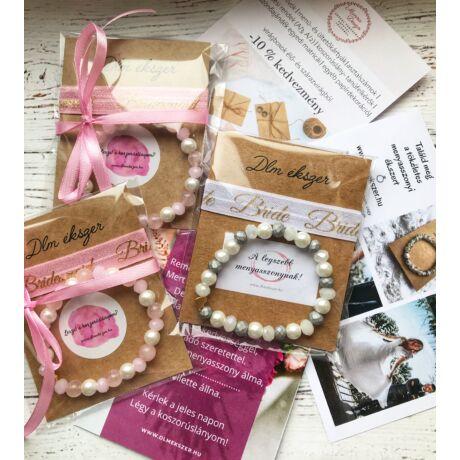 Rózsakvarc-Viktory csomag menyasszonyoknak