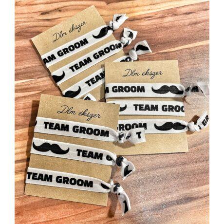 Legénybúcsús karkötők- 9db/csomag- Team Groom
