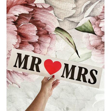 MR & MRS rendszámtábla