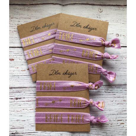 Lila Bride tribe karkötők- lánybúcsúra- 9db/ csomag