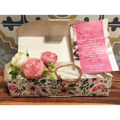 Tanú felkérő ajándékcsomag- rose